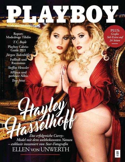 PLAYBOY Hayley Hasselhoff