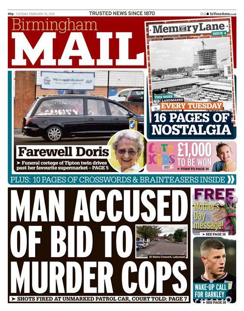 Birmingham Mail 2021-02-16
