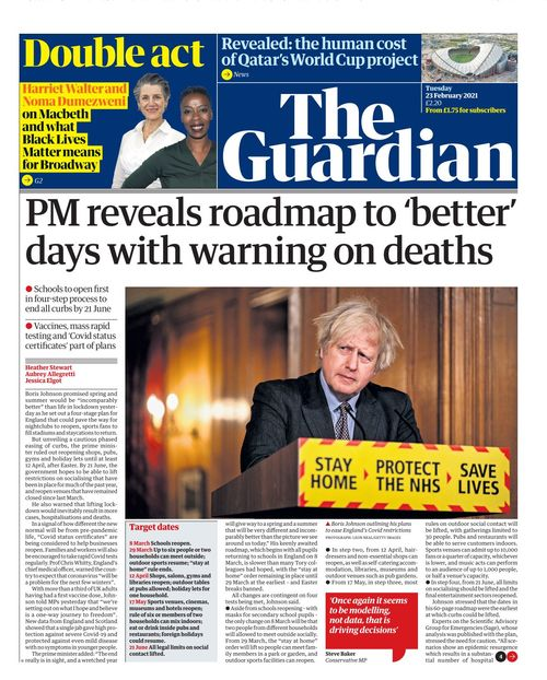 The Guardian 2021-02-23