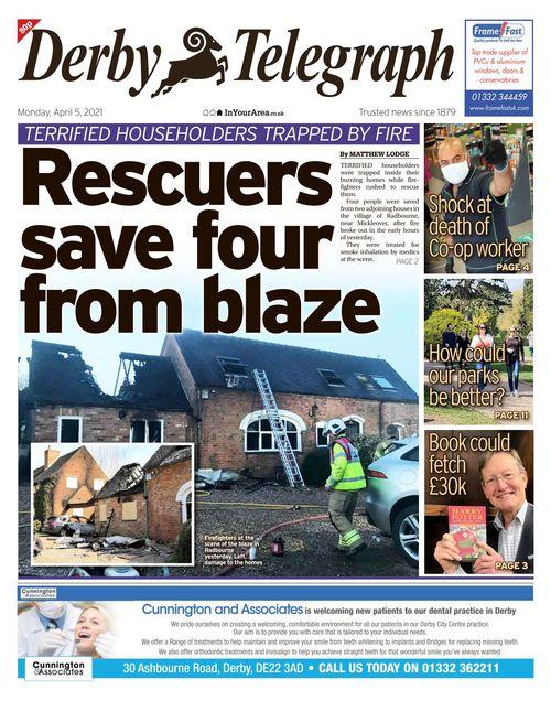 Derby Telegraph 2021-04-05