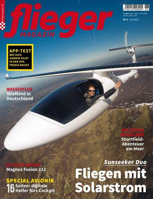 fliegermagazin Ausgabe 06/2021