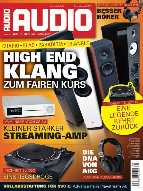 AUDIO Ausgabe 09/2021