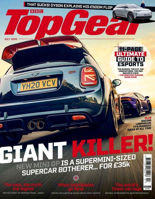 BBC Top Gear Magazine issue 07/2020