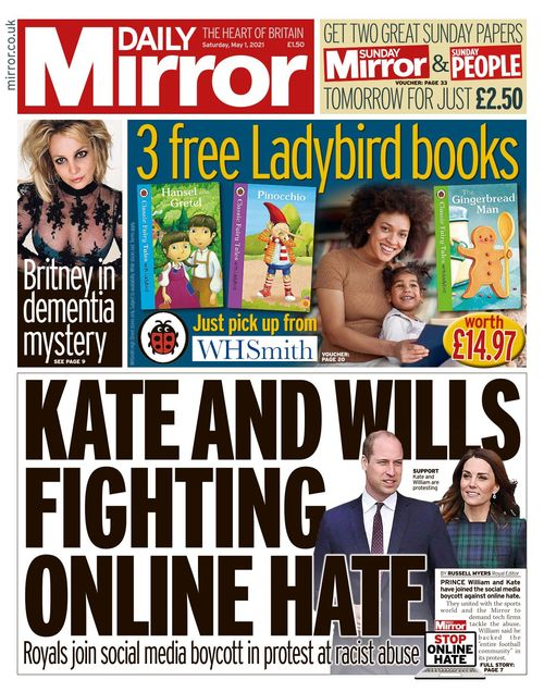 Daily Mirror 2021-05-01