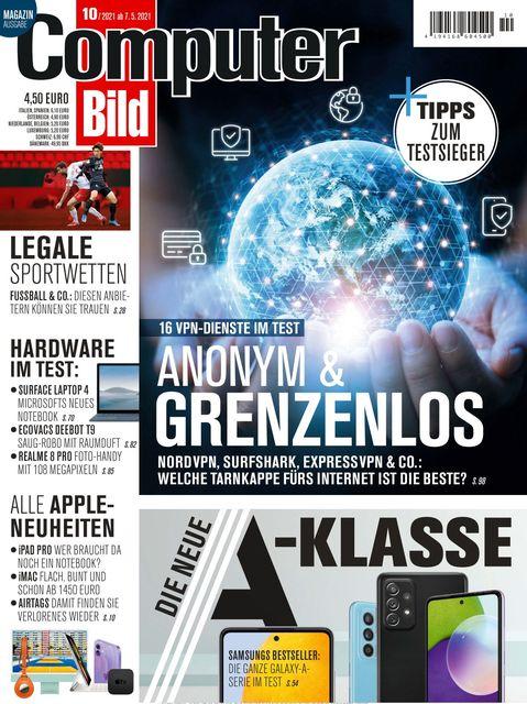 COMPUTER BILD Ausgabe 10/2021