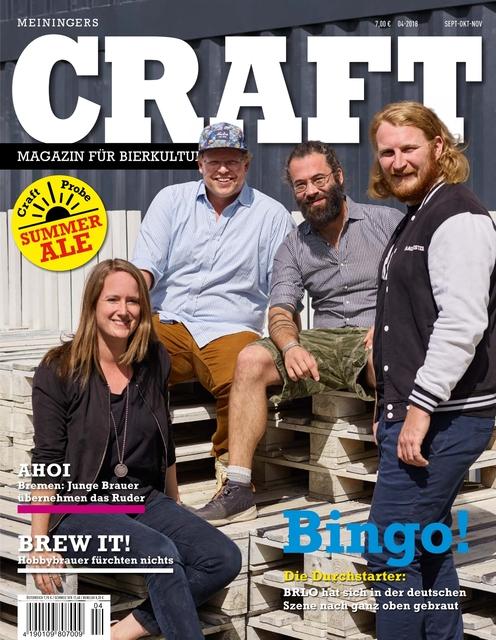 Meiningers Craft - Magazin für Bierkultur Ausgabe 04/2018