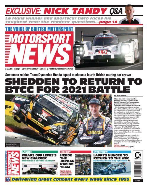 Motorsport News 2021-03-11
