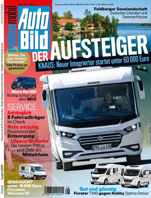 AUTO BILD Reisemobil 2020-07-10