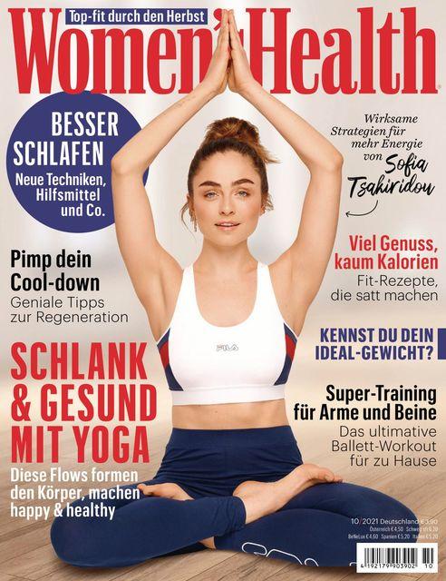 WOMEN'S HEALTH Ausgabe 10/2021
