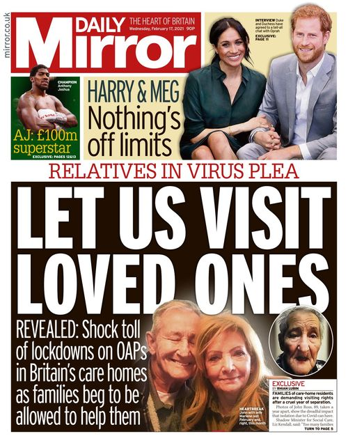 Daily Mirror 2021-02-17