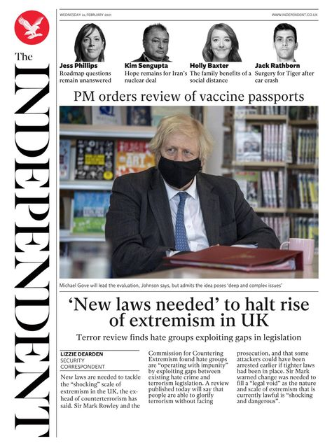 The Independent 2021-02-24