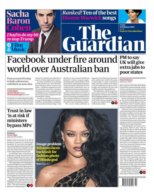 The Guardian 2021-02-19