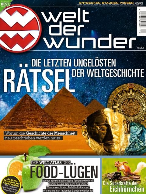 Welt der Wunder Ausgabe 5/2020