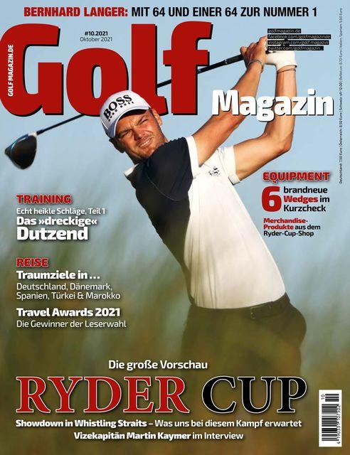 Golf Magazin Ausgabe 10/2021