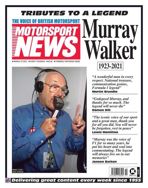 Motorsport News 2021-03-18