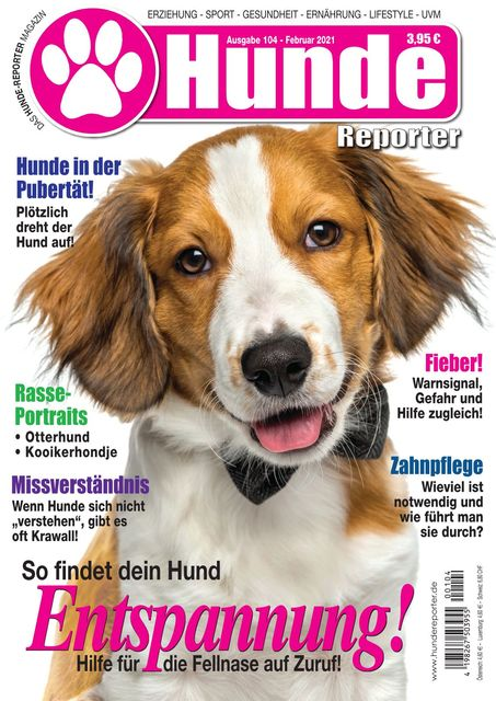 Hundereporter Ausgabe Nr. 104