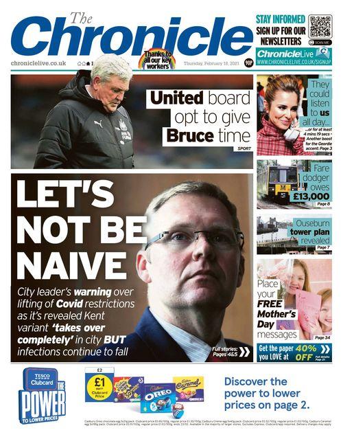 Newcastle Chronicle 2021-02-18