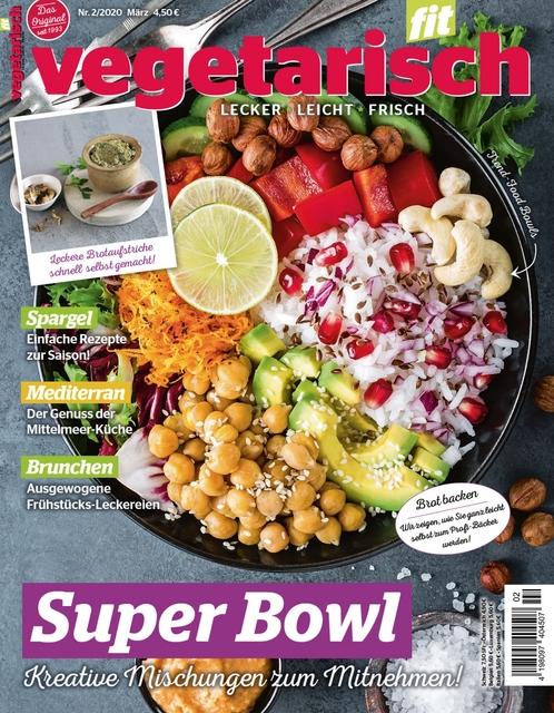Vegetarisch fit Ausgabe 02/2020
