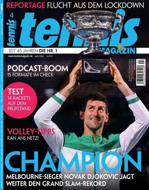 tennis MAGAZIN Ausgabe 04/2021