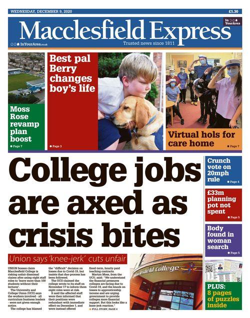 Macclesfield Express 2020-12-09