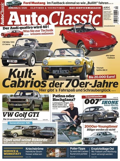 Auto Classic Ausgabe 04/2020