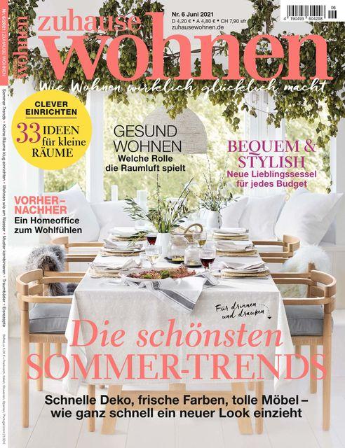 Zuhause Wohnen Ausgabe 06/2021