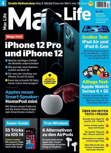 Mac Life Ausgabe 12/2020