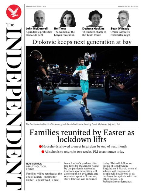 The Independent 2021-02-22