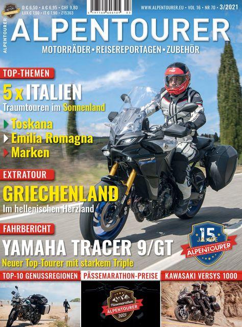 ALPENTOURER – Europas Motorrad-Tourenmagazin Ausgabe 03/2021