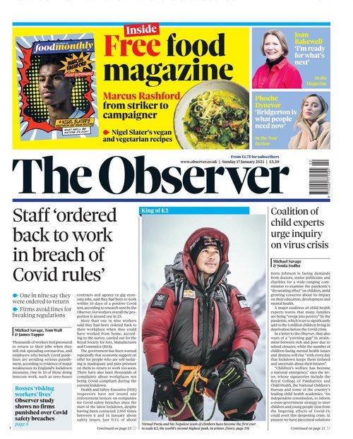 The Observer 2021-01-17
