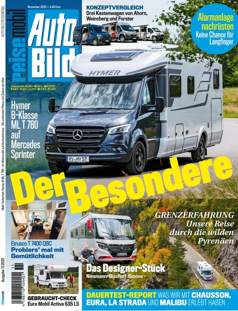 AUTO BILD Reisemobil 2020-10-09