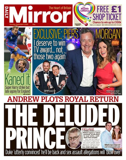 Daily Mirror 2021-09-09