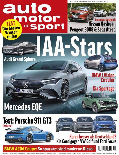 Auto Motor und Sport 2021-09-08