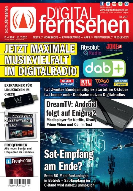 DIGITAL FERNSEHEN Ausgabe 11/2020