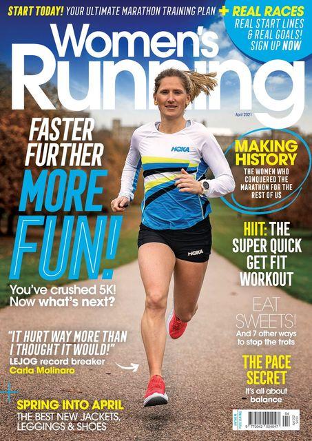 Women's Running UK Issue 136, 04/21