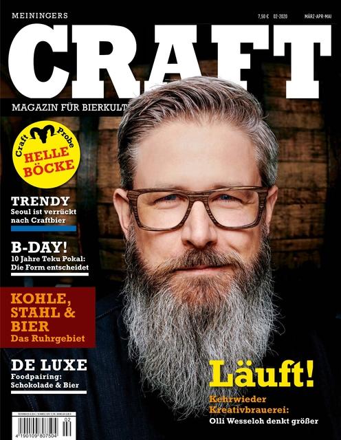 Meiningers Craft - Magazin für Bierkultur Ausgabe 02/2020