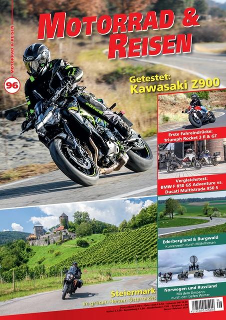 Motorrad & Reisen Ausgabe 96