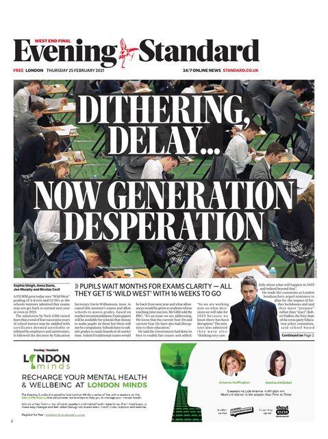 Evening Standard 2021-02-25