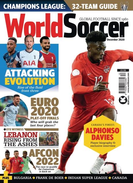 World Soccer issue 12/2020