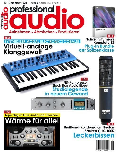Professional audio Ausgabe 12/2020
