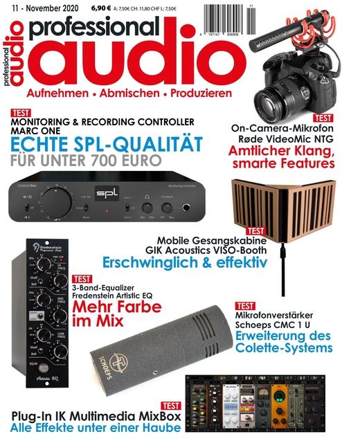 Professional audio Ausgabe 11/2020