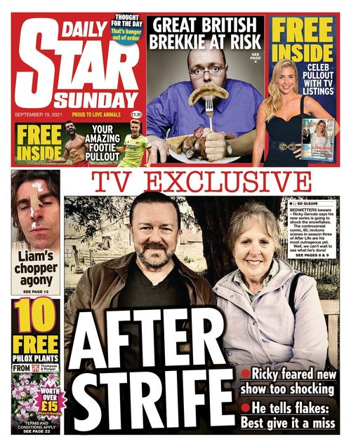 Daily Star Sunday 2021-09-19