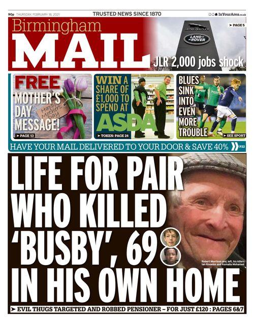 Birmingham Mail 2021-02-18