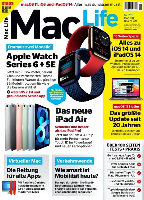 Mac Life Ausgabe 11/2020
