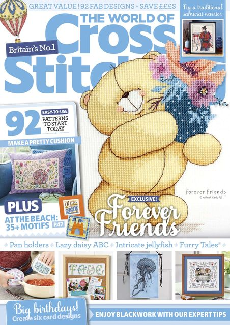 English cross stitch magazine Ultimate Cross Stitch No.25 East Asia