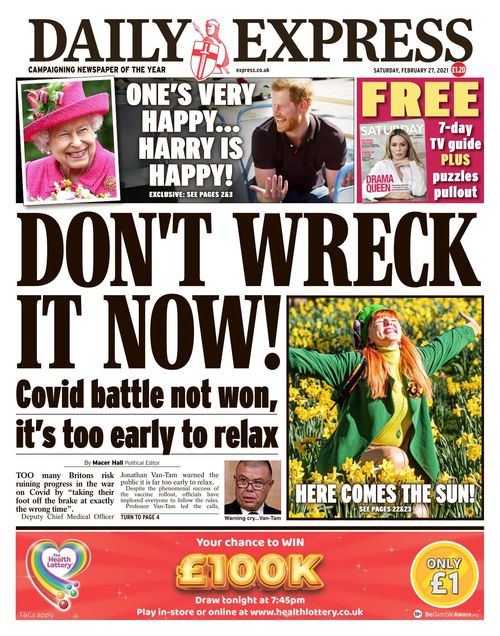 Daily Express 2021-02-27