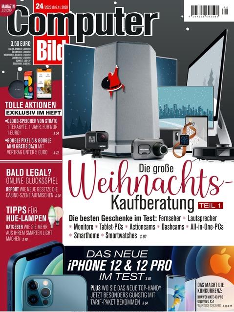 COMPUTER BILD Ausgabe 24/2020