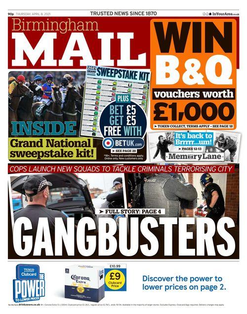 Birmingham Mail 2021-04-08