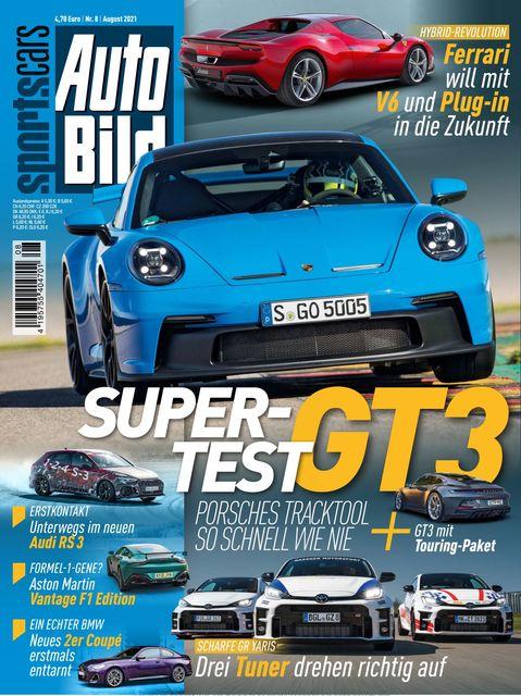 AUTO BILD Sportscars Ausgabe 08/2021