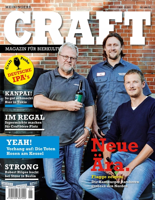 Meiningers Craft - Magazin für Bierkultur Ausgabe 01/2019